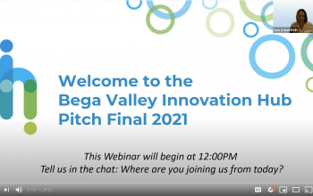 Missed our Pitch Event? Watch the presentation here